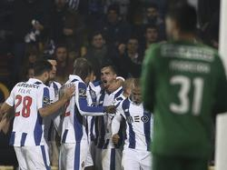 El Oporto suma de tres en tres. (Foto: Getty)