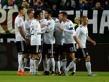 Die deutsche Nationalmannschaft gewann jedes ihrer WM-Quali-Spiele
