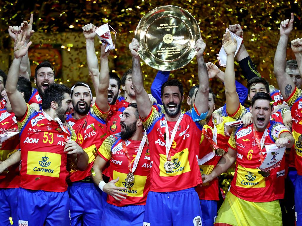Spanien feiert den Triumph bei der Handball-Europameisterschaft