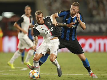 Juventus e Inter se vieron las caras este verano.