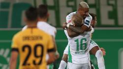 Matchwinner: Doppelpacker Daniel Keita-Ruel war am Freitag Garant für den Fürther Sieg