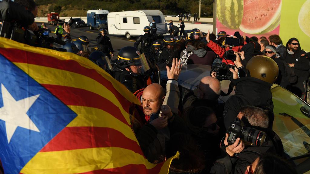 Clásico zwischen Real Madrid und FC Barcelona droht Demo-Chaos