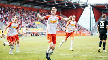 Zweiter Sieg für Jahn Regensburg
