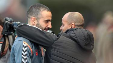 Ruben Amorim (l.) vom SC Braga soll Silas (r.) bei Sporting beerben