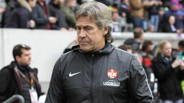 Kaiserslauterns ehemaliger Torwarttrainer Gerry Ehrmann