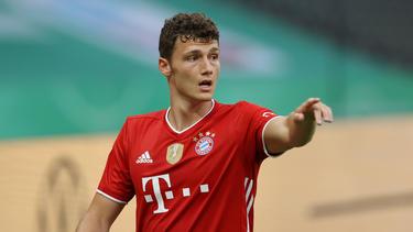 Der FC Bayern hofft auf einen Einsatz von Benjamin Pavard