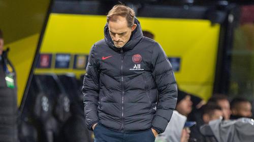 PSG-Trainer Thomas Tuchel musste ohne seiner Superstars auskommen