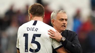 Dier ging während des Spiels auf Toilette und wurde von Mourinho zurückgeholt