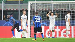 Romelu Lukaku (l.) traf gegen Gladbach doppelt
