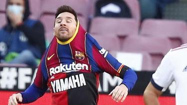 Lionel Messi muss für seine Aktion zur Ehrung seines gestorbenen Landsmanns Maradona 600 Euro zahlen