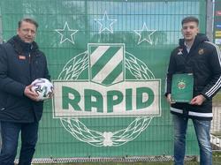 Mario Dijaković bleibt bei Rapid längerfristig an Bord