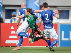 BW Linz besiegte Wacker Innsbruck