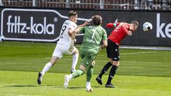 Marvin Ducksch (r.) traf für Hannover 96