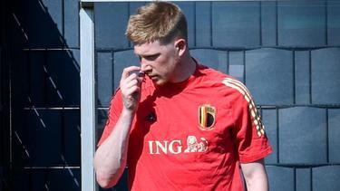 Steht vor der Rückkehr ins Teamtraining der Belgier: Kevin De Bruyne