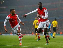 Blitzstart für Arsenal