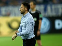 Domenico Tedesco will sich nach dem Pokal-Aus voll auf die Bundesliga fokussieren