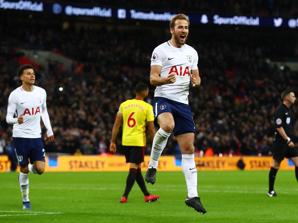 Kane erzielte sein 27. Saison-Tor