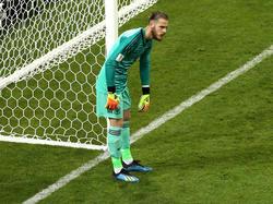 Beim zweiten Treffer der Portugiesen entglitt David de Gea der Ball