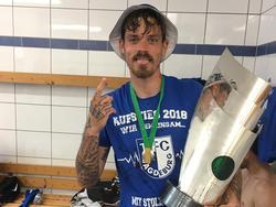 Dennis Erdmann stieg mit dem 1. FC Magdeburg auf (Quelle: Instagram)