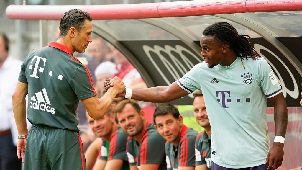Kovac gibt Renato Sanches eine Garantie auf Einsatzminuten
