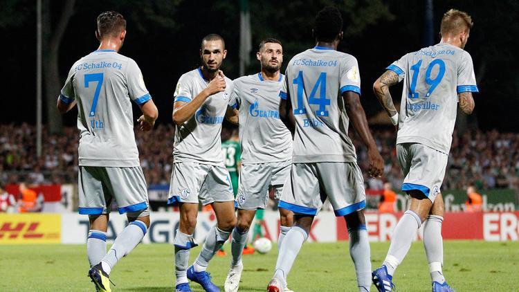 Der FC Schalke steht in der 2. Runde des DFB-Pokals