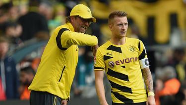 Jürgen Klopp und Marco Reus arbeiteten einst gemeinsam beim BVB