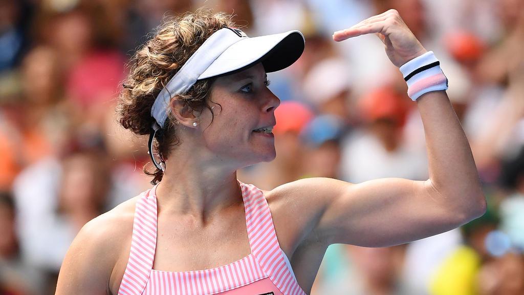 Laura Siegemund steht in Melbourne in der zweiten Runde