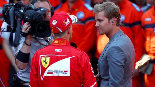 Nico Rosberg sieht Ferrari aerodynamisch gegenüber Mercedes im Hintertreffen