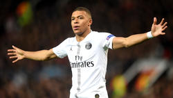Kylian Mbappé traf per Foulelfmeter