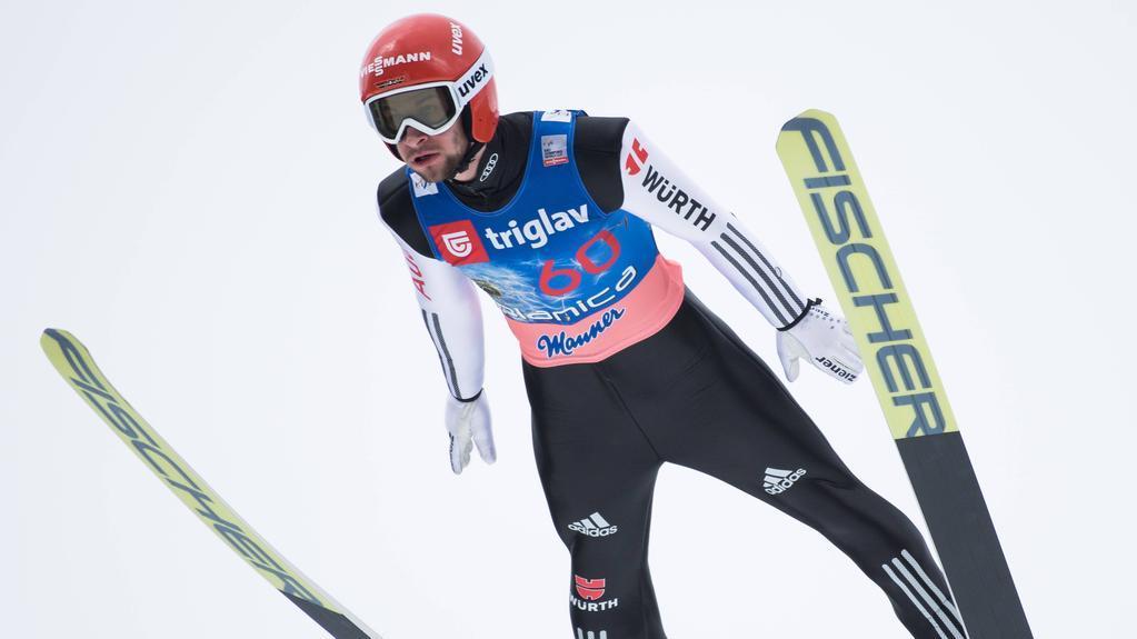 Markus Eisenbichler gab einen Vorsprung noch aus der Hand