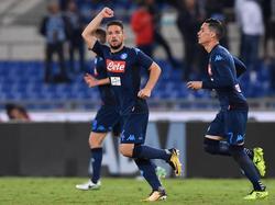 Dries Mertens es uno de los mejores atacantes del Nápoles. (Foto: Getty)
