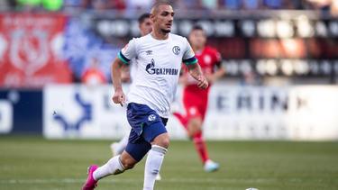 Ahmed Kutucu gilt beim FC Schalke 04 als großes Talent