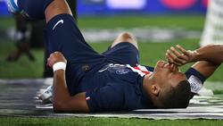 Kylian Mbappé verletzt sich im PSG-Spiel gegen Toulouse