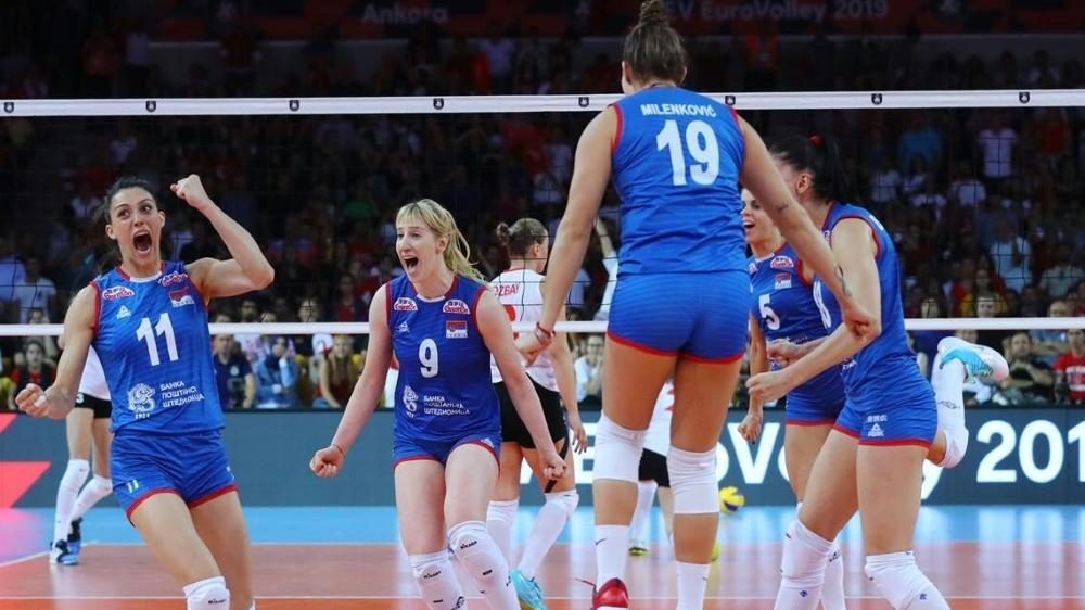 Serbiens Volleyball-Damen haben den EM-Titel gewonnen