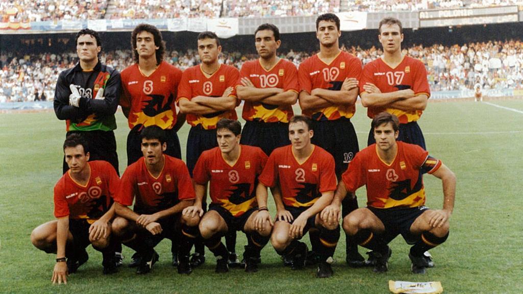España tocó la gloria en los Juegos de Barcelona.