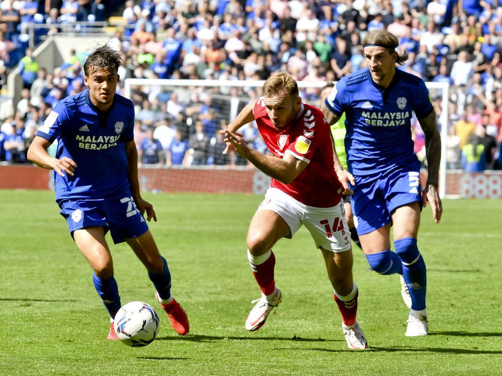 Andreas Weimann gegen Cardiff
