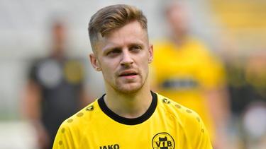 Ein gefragter Mann im Internet: Pascal Gurk vom VfB Homberg
