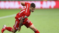 Lucas Hernández ist nach seiner ersten Saison beim FC Bayern sehr glücklich