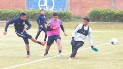 Entrenamiento reciente de Alianza de Lima.