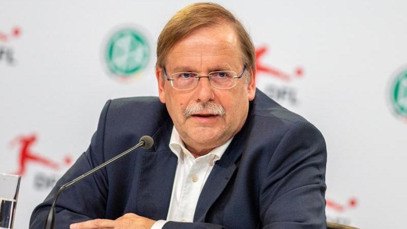 DFB-Vizepräsident Rainer Koch erwartet