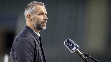 Trainer Marco Rose leistet erfolgreiche Arbeit in Mönchengladbach