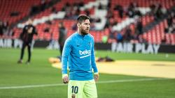 Die Sperre für Lionel Messi bleibt bestehen