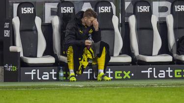 Marco Reus verlor mit dem BVB bei Borussia Mönchengladbach