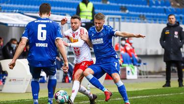 Der KSC kam gegen Jahn Regenburg nicht über ein 0:0 hinaus