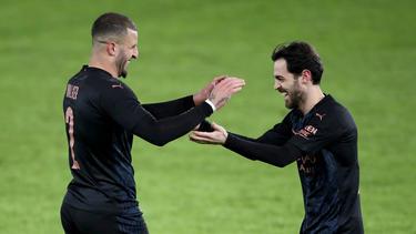 Manchester City setzte gegen Swansea City durch