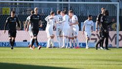 Der SVS hatte gegen Osnabrück leichtes Spiel