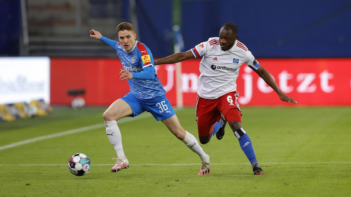 Holstein Kiel und der HSV trennten sich unentschieden