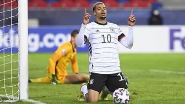 Lukas Nmecha rettete Deutschland einen Punkt