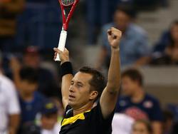 Philipp Kohlschreiber besiegt John Isner bei den US Open