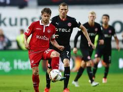 Klares 3:0 für Lautern gegen Düsseldorf